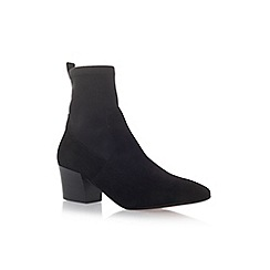 Carvela - Black 'Silk' high heel ankle boots