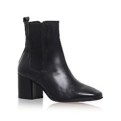 Carvela - Black 'Schubert' high heel ankle boots