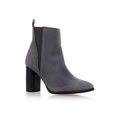 Carvela - Grey 'Spectre' high heel ankle boots