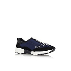 Carvela - Blue 'Lamb' flat lace up sneakers