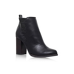 Miss KG - Black 'Scorpion' high heel ankle boots