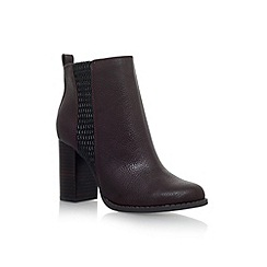 Miss KG - Red 'Scorpion' high heel ankle boots