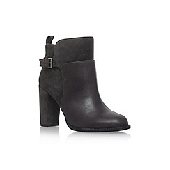 Nine West - Grey 'Quinah' high heel ankle boots