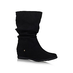 Miss KG - Black 'Helena' high heel knee boots