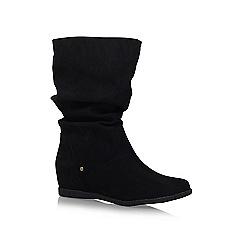 Miss KG - Black 'Helena' high heel knee boots