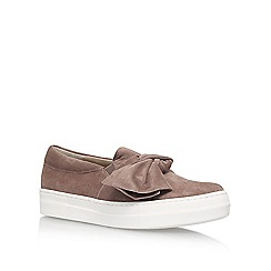 KG Kurt Geiger - Brown Little Flat Slip On Sneakers