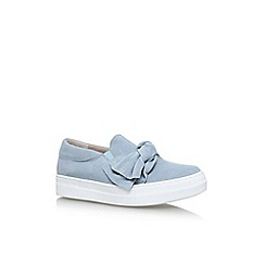 KG Kurt Geiger - Blue 'Little' flat sneakers