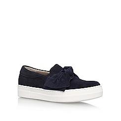 KG Kurt Geiger - Blue Little Flat Slip On Sneakers