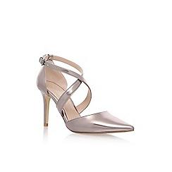 Carvela - Grey 'Kross' high heel sandals