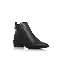 Carvela - Black 'Simple' flat ankle boots