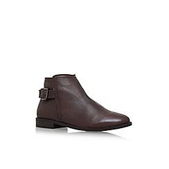 Carvela - Brown 'Potion' flat ankle boots