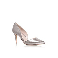 Carvela - Grey 'Knot' high heel court shoes