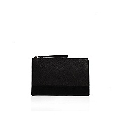 Miss KG - Black 'Tessa' clutch bag