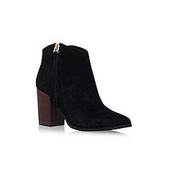 Carvela - Black 'Smashing' high heel ankle boot