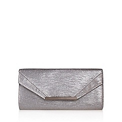 Miss KG - Grey 'Thandi' clutch bag