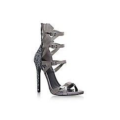 Carvela - Grey 'Grady' high heel sandals