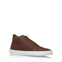 KG Kurt Geiger - Brown 'Hoddesdon' flat lace up sneakers