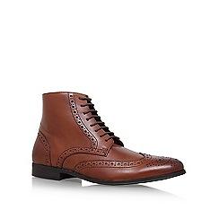 KG Kurt Geiger - Brown 'Hove' flat boots