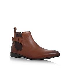 KG Kurt Geiger - Brown 'Horncastle' flat boots