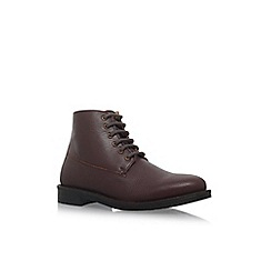 KG Kurt Geiger - Red 'Holywell' flat boots