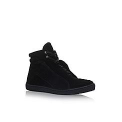 KG Kurt Geiger - Black 'Harlow' flat sneakers