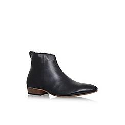 KG Kurt Geiger - Black 'Hinckley' flat chelsea boots