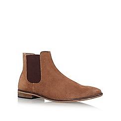 KG Kurt Geiger - Brown 'Harrogate' flat boots