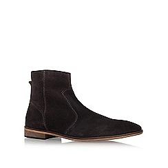KG Kurt Geiger - Grey 'Halifax' flat boots