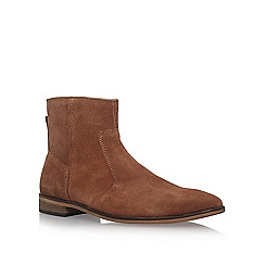 KG Kurt Geiger - Brown 'Halifax' flat boots