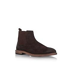 KG Kurt Geiger - Brown 'Hadleigh' flat ankle boot