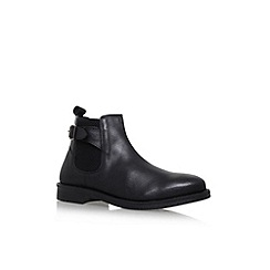 KG Kurt Geiger - Black 'Hastings' flat boots