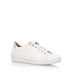 Carvela - White 'Liquid' Flat Lace Up Sneakers