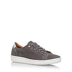 Carvela - Grey 'Liquid' Flat Lace Up Sneakers
