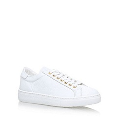 Carvela - White 'Lollipop' Flat Lace Up Sneakers
