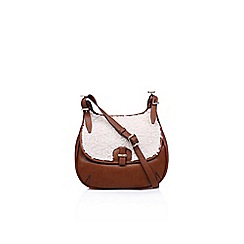 Nine West - Brown 'Beleka' mini handbag with shoulder straps