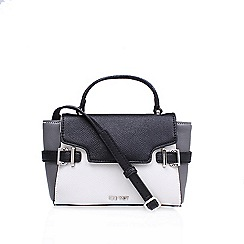 Nine West - White 'Clean Living Cutie' satchel handbag with shoulder straps