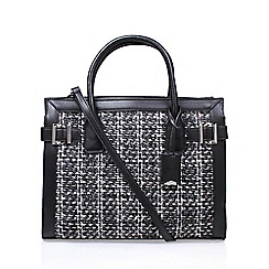 Nine West - Black 'Clean Living' tote handbag with shoulder straps