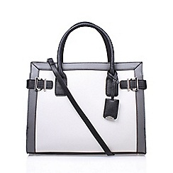 Nine West - White 'Clean Living' tote handbag with shoulder straps