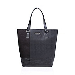Nine West - Black 'Patchworks' tote handbag with shoulder straps