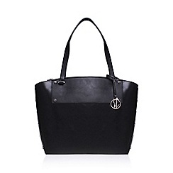 Nine West - Black 'Sheer Genius' tote LG handbag with shoulder straps