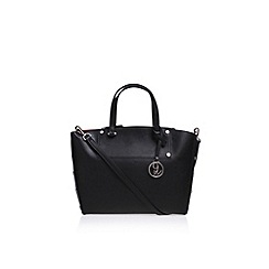 Nine West - Black 'Sheer Genius' tote SM handbag with shoulder straps