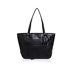 Nine West - Black 'Society Girl' tote MD handbag with shoulder straps