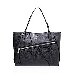 Nine West - Black 'Underwraps' tote handbag with shoulder straps