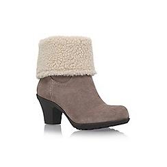 Anne Klein - Brown 'Heward' high heel calf boots