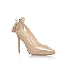 Nine West - Gold 'Erienne' high heel sandals