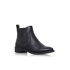 Nine West - Black 'Jupiter3' flat ankle boot