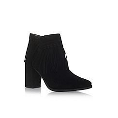 Nine West - Black 'Wilamina' high heel ankle boots