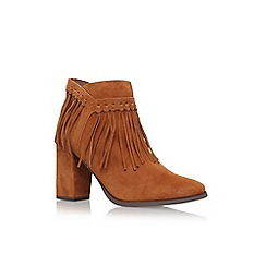 Nine West - Brown 'Wilamina' high heel ankle boots