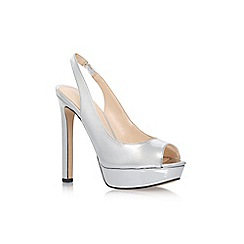 Nine West - Silver 'Valorie3' high heel sandals