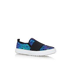 KG Kurt Geiger - Multicoloured 'Glitz' flat slip on sneakers